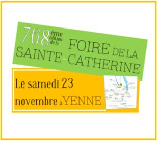 Saint-Catherine's fair in Yenne !