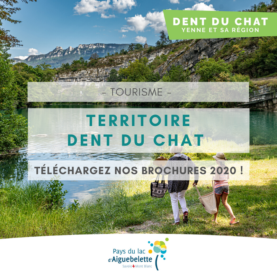 Download the 2020 brochures of the Dent du Chat Territory - Yenne and its region