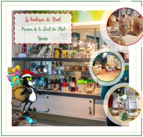 Christmas Shop - Maison de la Dent du Chat